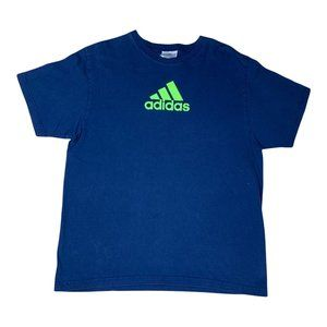Adidas Vintage T-Shirt in Navy